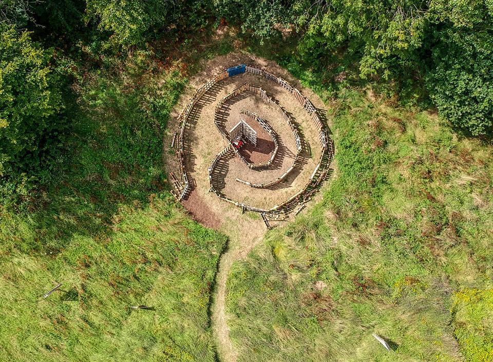 Labyrinth birds eye view