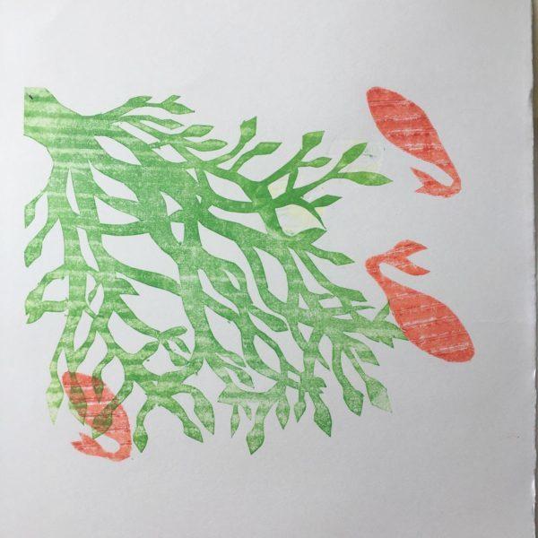 Caoimhe McDonnell-Ntuli - Fish Print 1