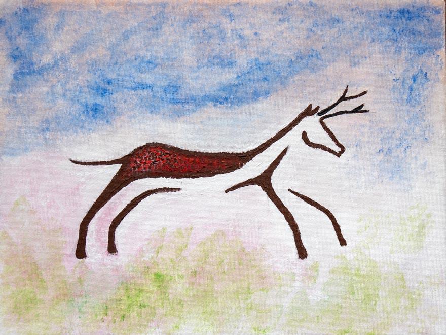 Leaping Deer Neil Akehurst