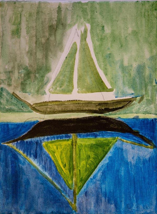 Sailing Boat Michael Sugden